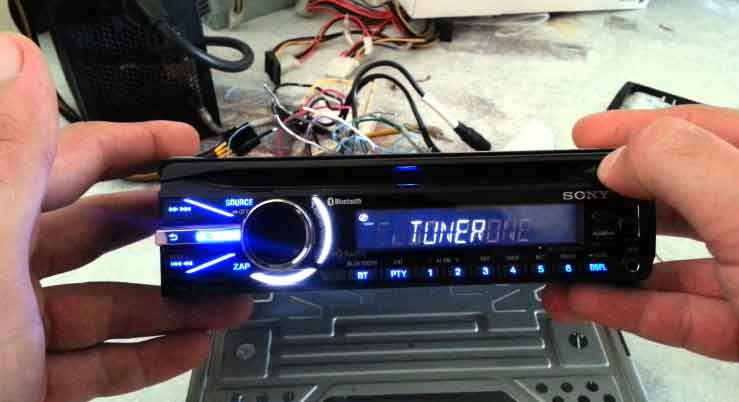 Car radio repair