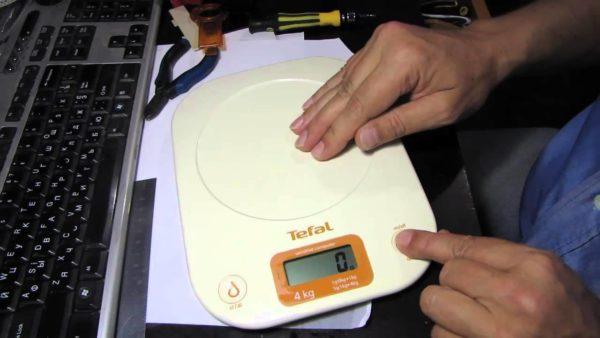 Floor scales repair