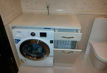 Installation of washing machines1