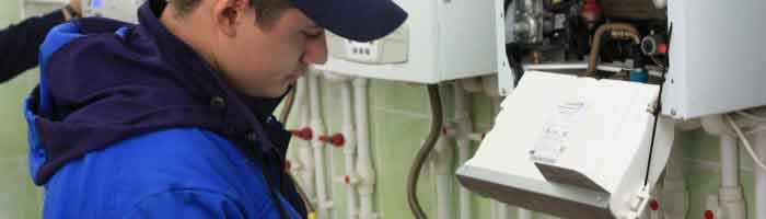 Repair gas boiler
