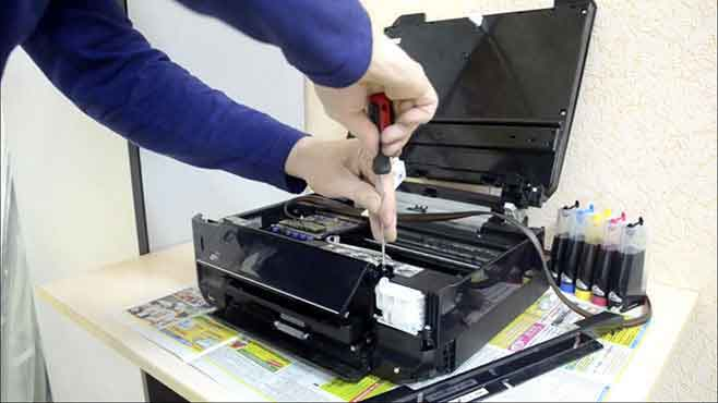 Repair-of-laser-printers-with-maintenance